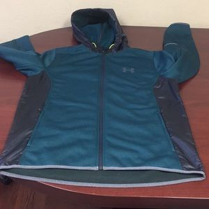 Under Armour LS W/Side Zip Up Pockets Hoodie #107